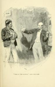 Robert Louis Stevenson - The Bottle Imp, ilustración de Gordon Brown y W. Hatherell (1904)