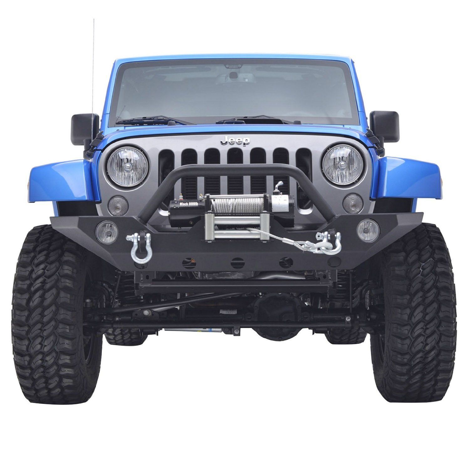 E Autogrilles 07 17 Jeep Wrangler Jk Rock Crawler Offroad Front Bumper With Winch Mounting Plate 51 0328 Jeep Wrangler Jk Jeep Wrangler Jeep Wrangler Diy
