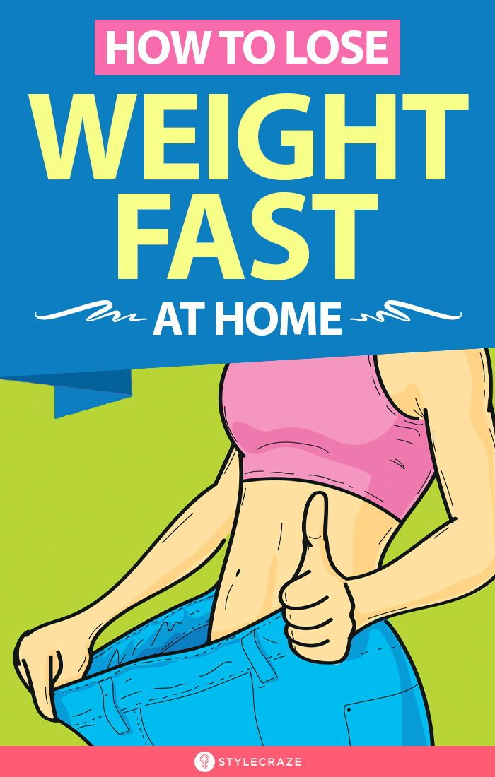 How To Lose Weight Fast At Home In 10 Days (With E