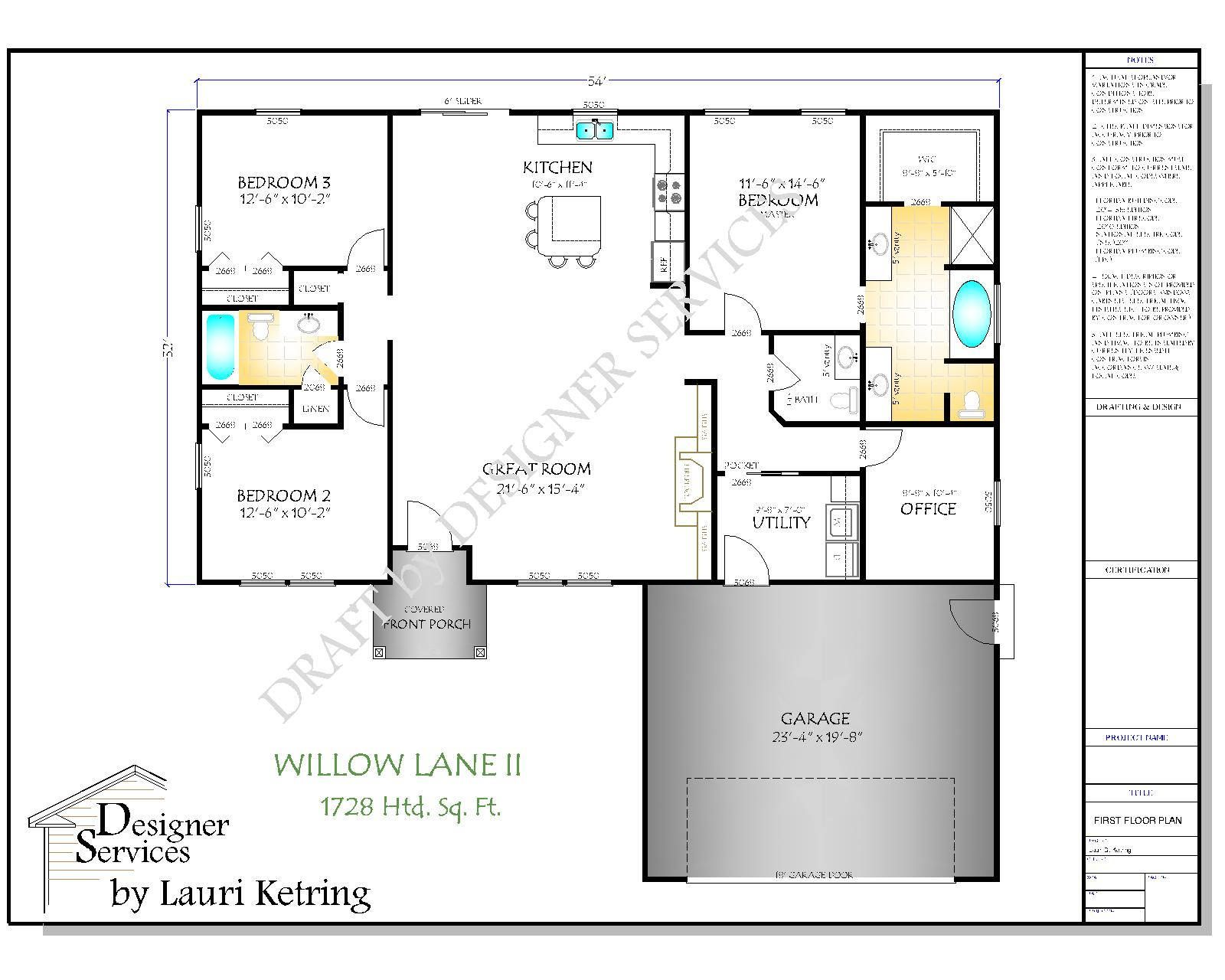The Willow Lane Ii House Plan In