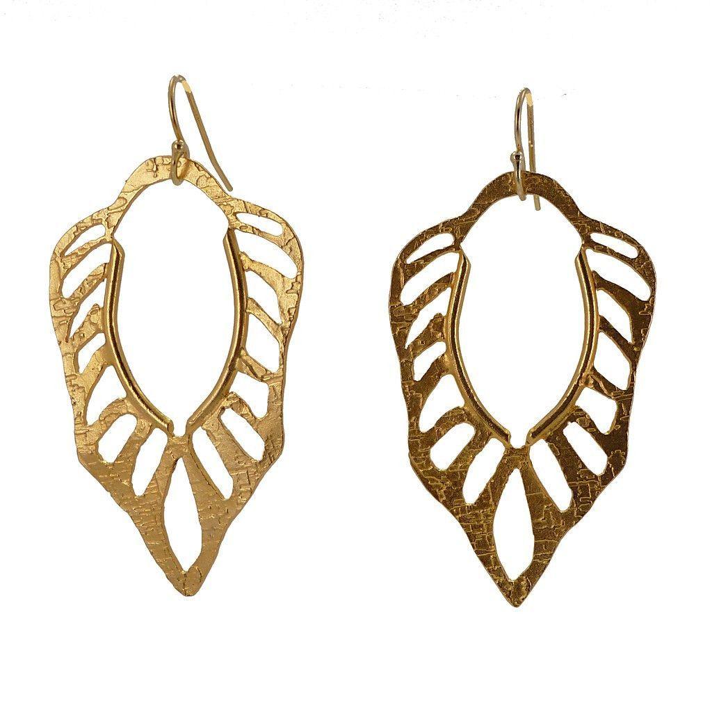 Mane Of Gold Earrings