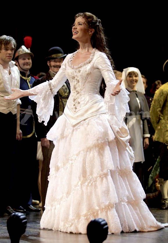 Operafantomet Phantoming Sierra Boggess Christine Wardrobe
