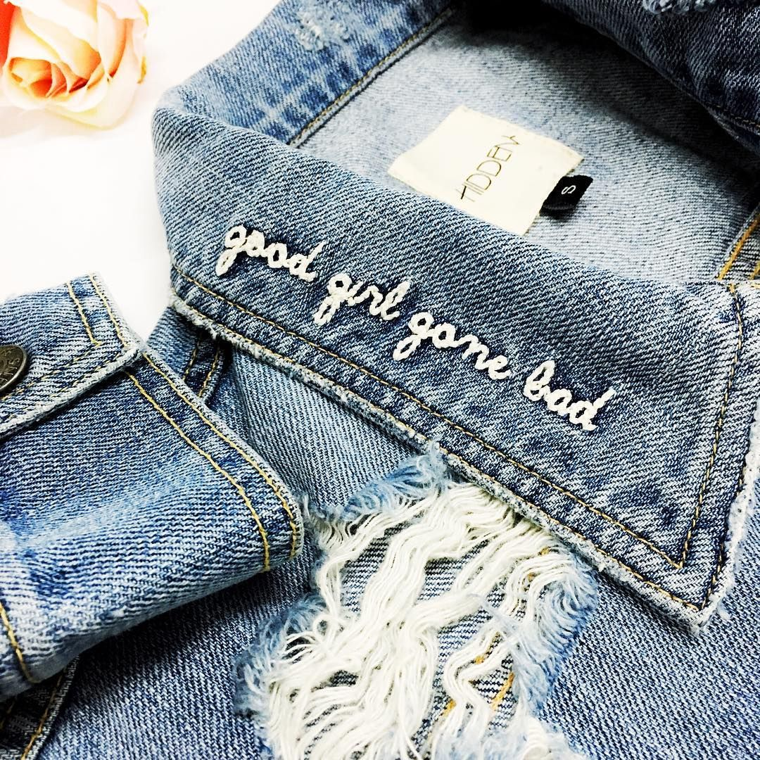 But still good at heart Nobody Asked You Denim Jacket