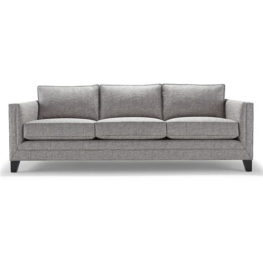Mitchell Gold Bob Williams Reese Sofa Comes In Four Tweed Fabrics