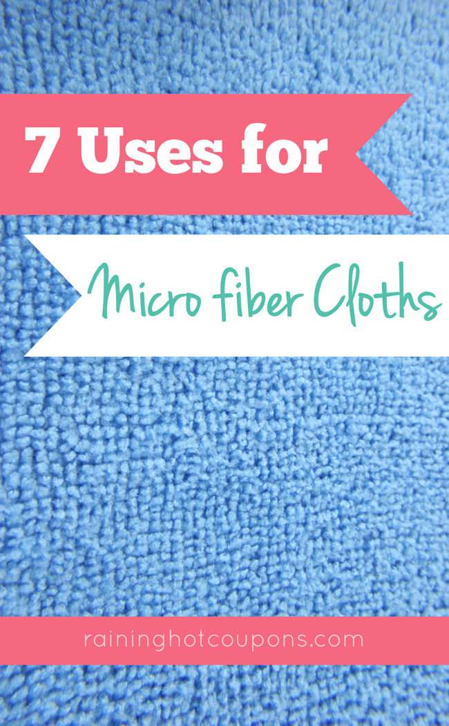 7 Uses For Microfiber Cloths Cleaning Clothes Microfiber Cloth Clean Microfiber