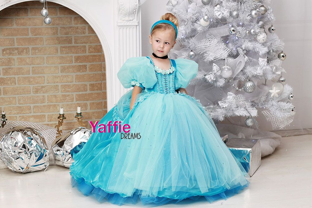 Beautiful Cinderella Dress Disney Cinderella Halloween Costume Cosplay Disney  Princess Cinderella Birthday Party Outfit Ideas Gift
