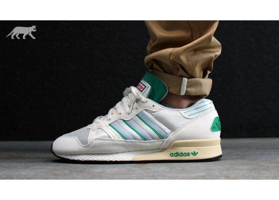 51d5c2e933df4 adidas ZX 710 OG (White Vapour   Fresh Green   Neo White ...