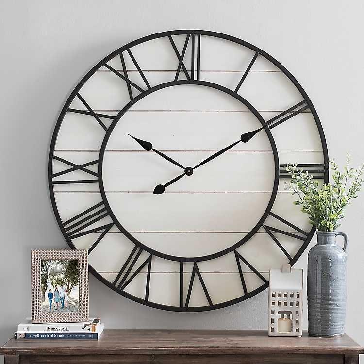Kirkland S Clock Wall Decor Wall Clock Clock Decor