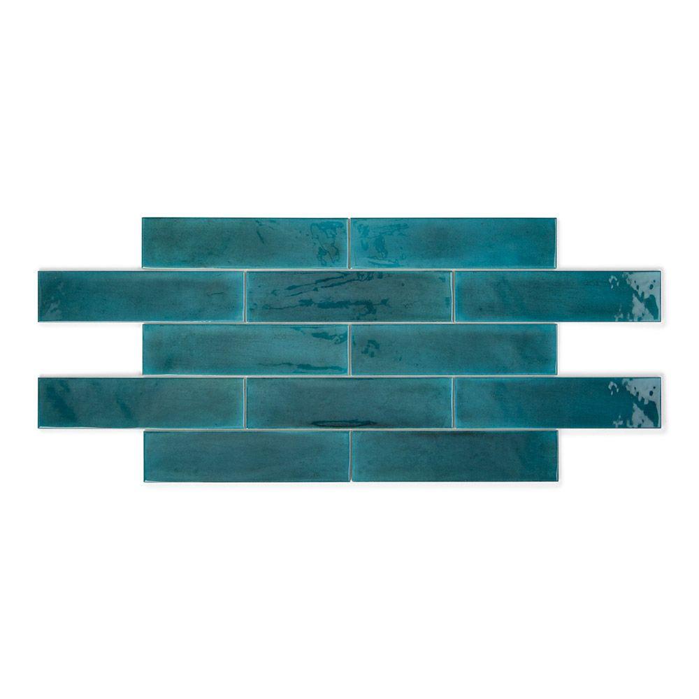 Opal Emerald Wall Tiles Brick Effect Wall Tiles Opal