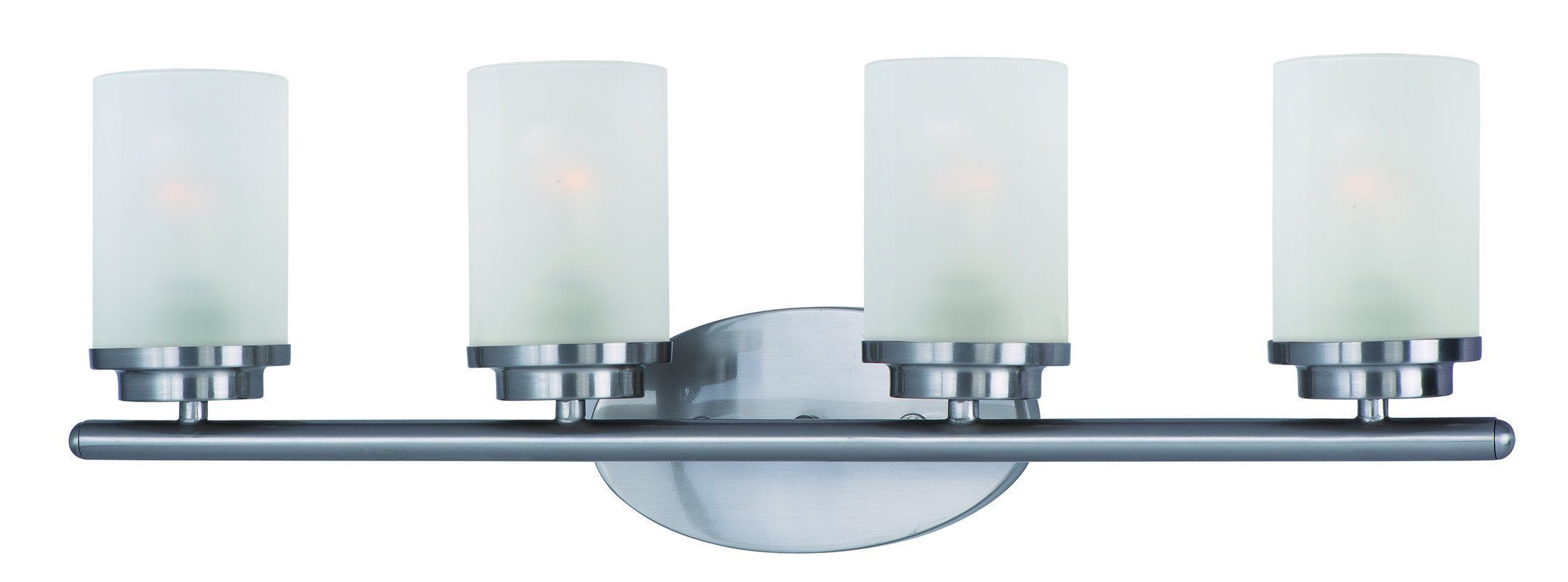 """Maxim 10214 4 Light 26.25"""" Wide Bathroom Fixture from the Corona Collection"""