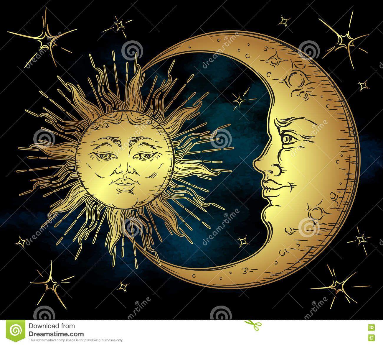 Pin von TheBestNest auf tattoo | Pinterest | Mond, Mond bilder und Sonne