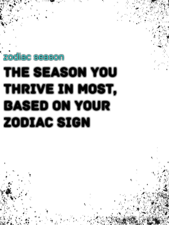 What Season Is It Astrology