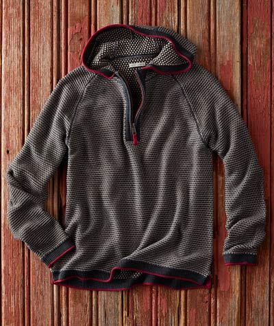 e2281a7b Men's Oslo Hoodie - For this richly textured pullover, we mixed elements of  a vintage ski sweater with a touch of the folkloric.