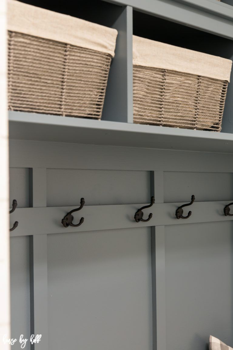 Ikea Hemnes Hack Diy Mudroom Bench And Storage House By Hoff Diy Mudroom Bench Ikea Mud Room Mudroom Makeover