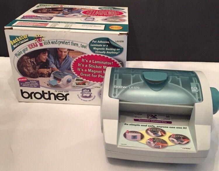 Brother Backster LX-570 Multi-Finisher Laminator