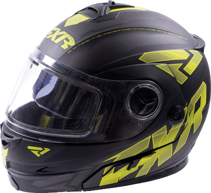 FXR Racing - Fuel Modular Helmet Non Electric Shield
