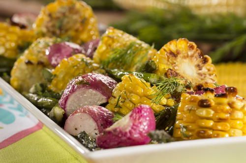 Roasted Spring Vegetables | MrFood.com