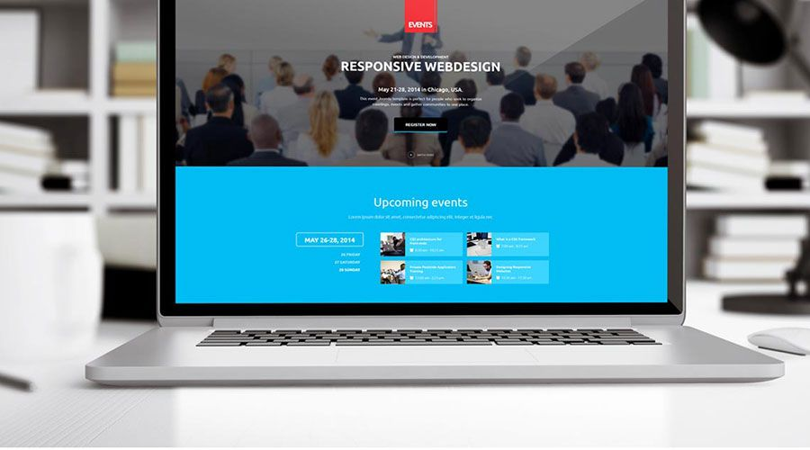 Ini adalah deskripsi dari Template Joomla Premium Responsive Acara Gavick Events yang dapat Anda gunakan ketika memesan Jasa Web Profesional yang ditawarkan oleh Enigma Web Bogor.