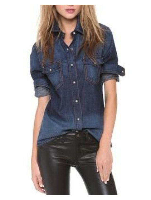 0dfd2d884 Camisa de jean