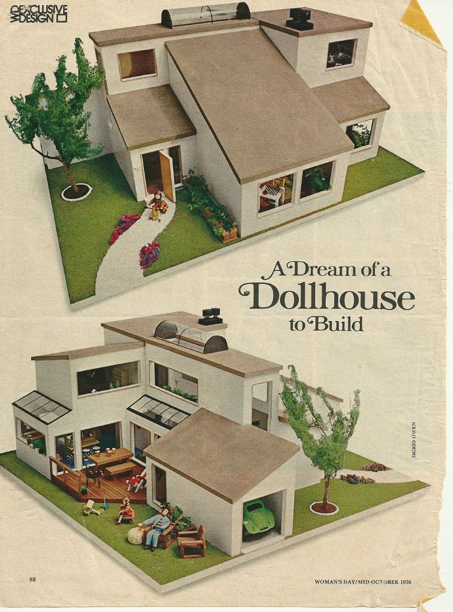 Original Womanu0027s Day Article About The Ira Grandberg Dollhouse. At The  Bottom Is A Link