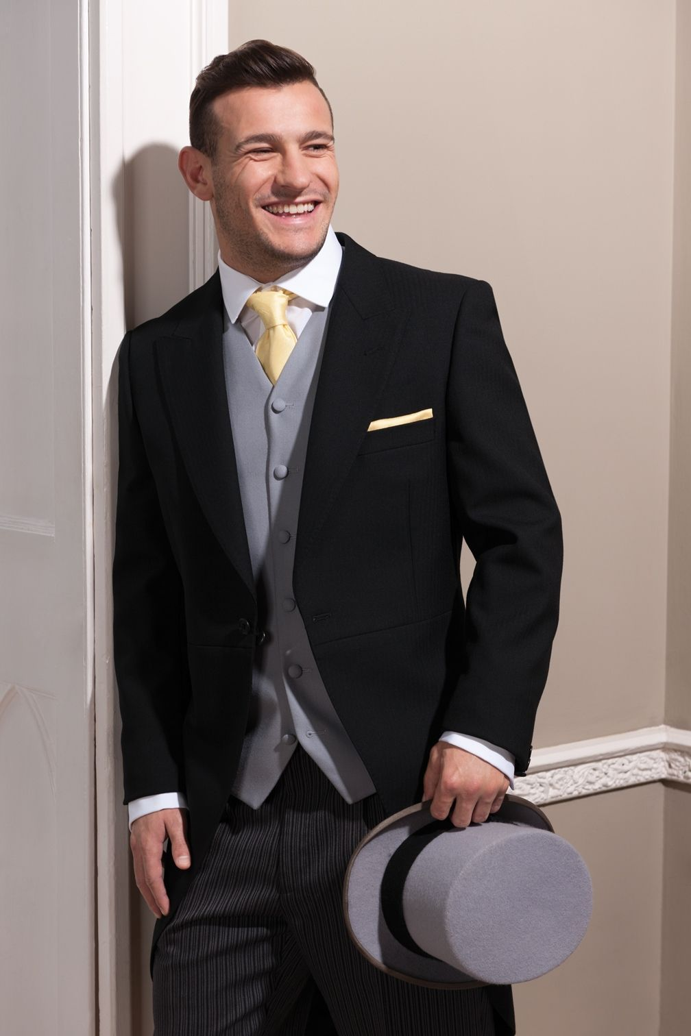 English Rugby Union Player Danny Care Wearing Austin Reed Hirewear Rugby Rugby Men Black Suit Men