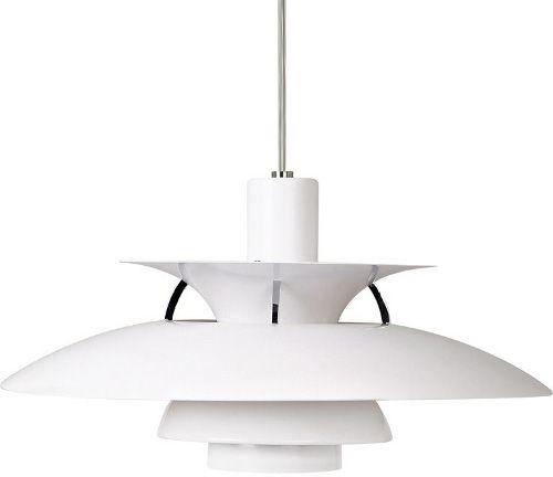 Ph Lampa Pris. Pendel Lampe Ph5 Ph 5 Hvid Med Stofle ...