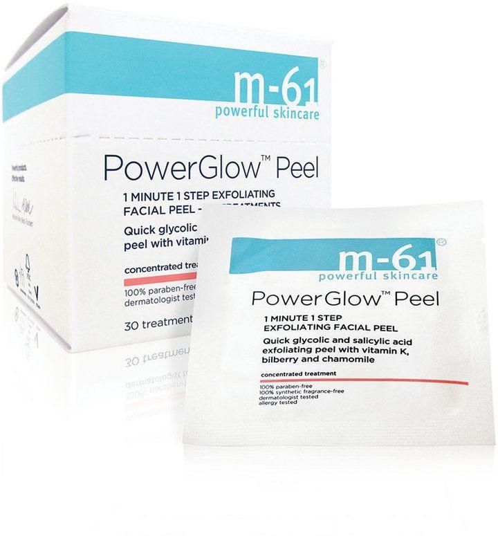 m61 by Bluemercury PowerGlow Peel 1 Minute 1Step