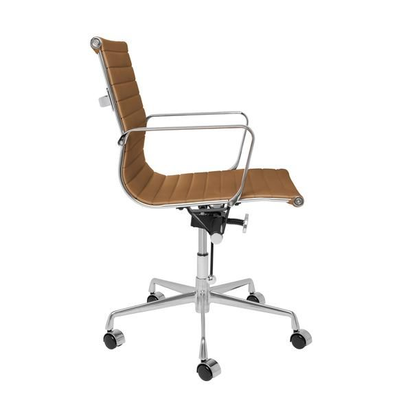 Eames ribbed chair tan office Ergonomic Soho Ribbed Management Chair tan The Soho Series Management Chair Is The Wobi Office Soho Ribbed Management Chair tan In 2019 The Minimalist Home