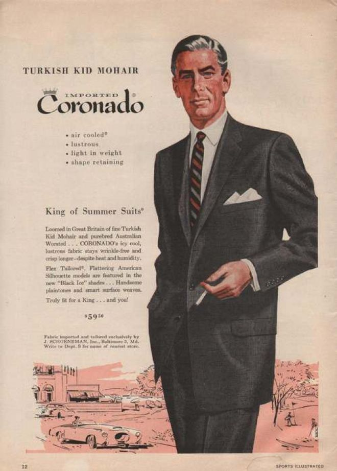 Coronado King Of Summer Mens Suit