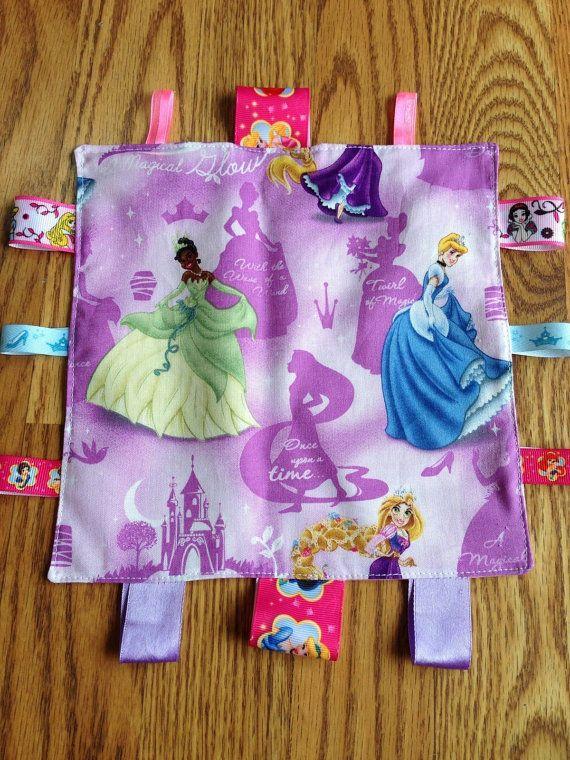 Disney Princess baby teething / security blanket www