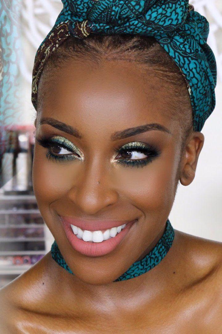 Black Owned Makeup Brands Beauty Challenge Makeup looks