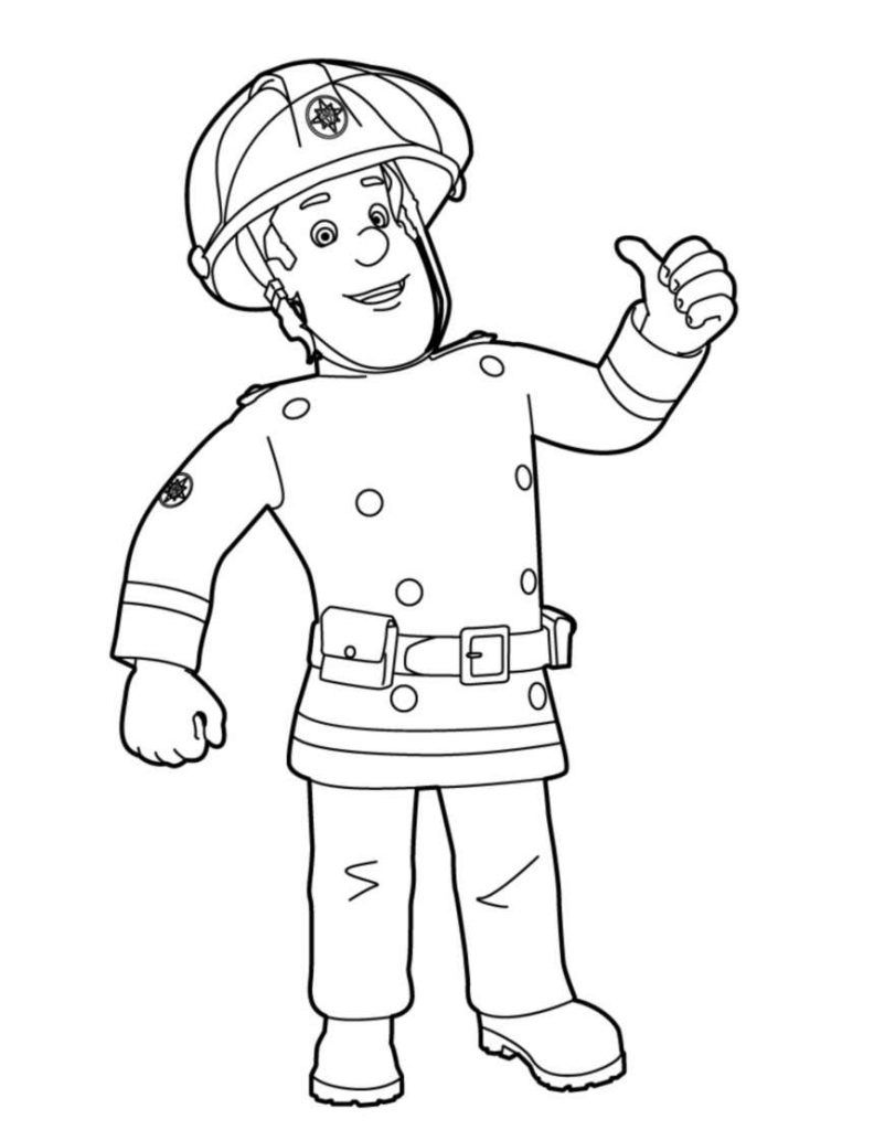Fireman Sam Coloring Pages Best Coloring Pages For Kids Fireman Sam Colouring Pages Coloring Pages For Kids