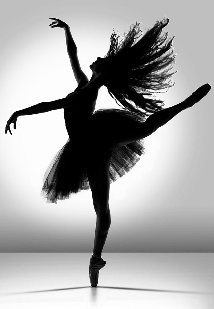 Beautiful Silhouette From Square Dancers Collection By Richard