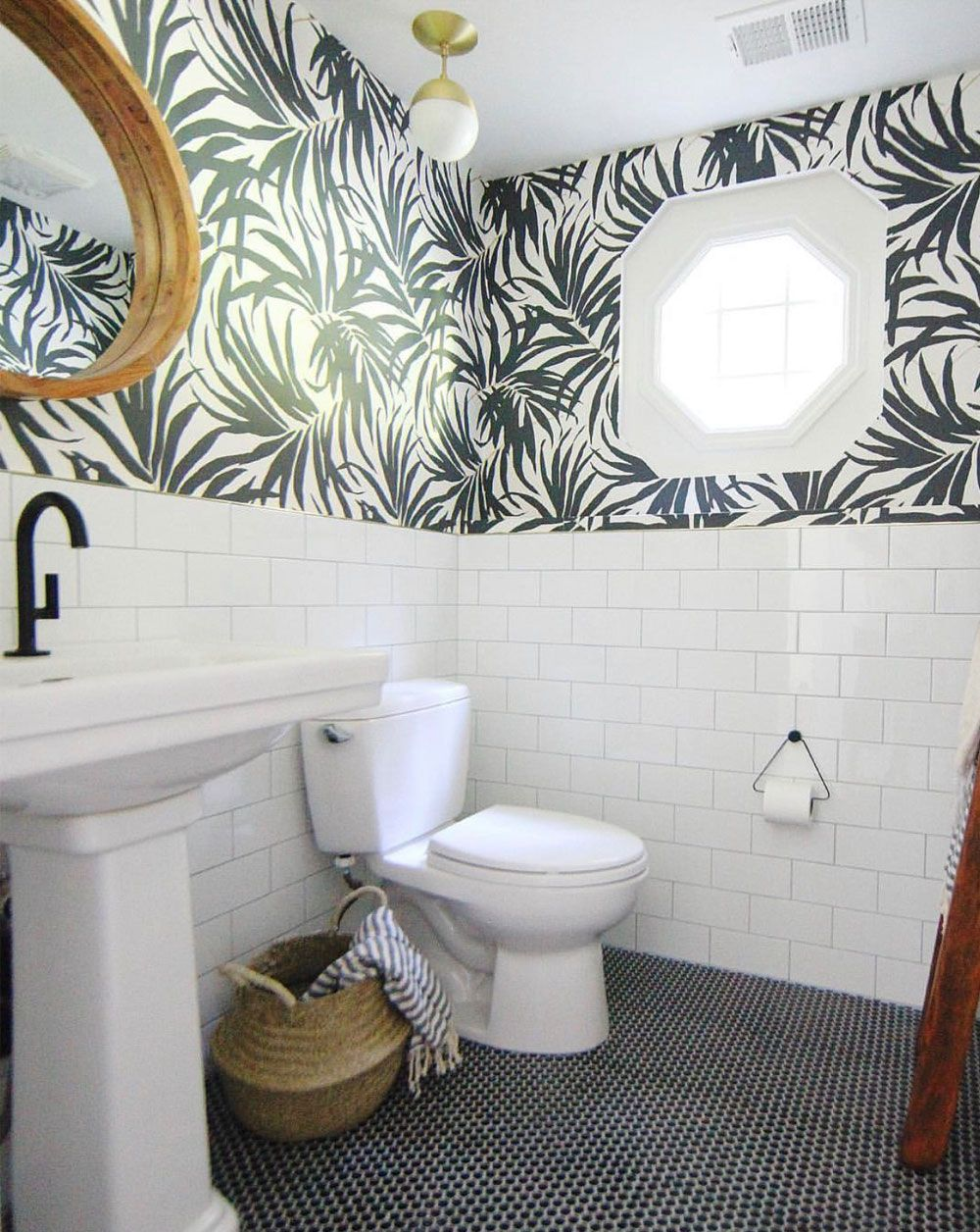 Best Removable Wallpaper Temporary Wallpaper Bathroom Wallpaper Bathroom Wallpaper Trends Bathroom Styling