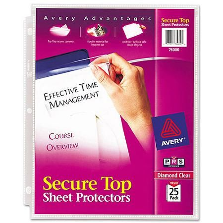 Shop By Brand Sheet Protectors Clear Sheet Protectors Sheet Protector