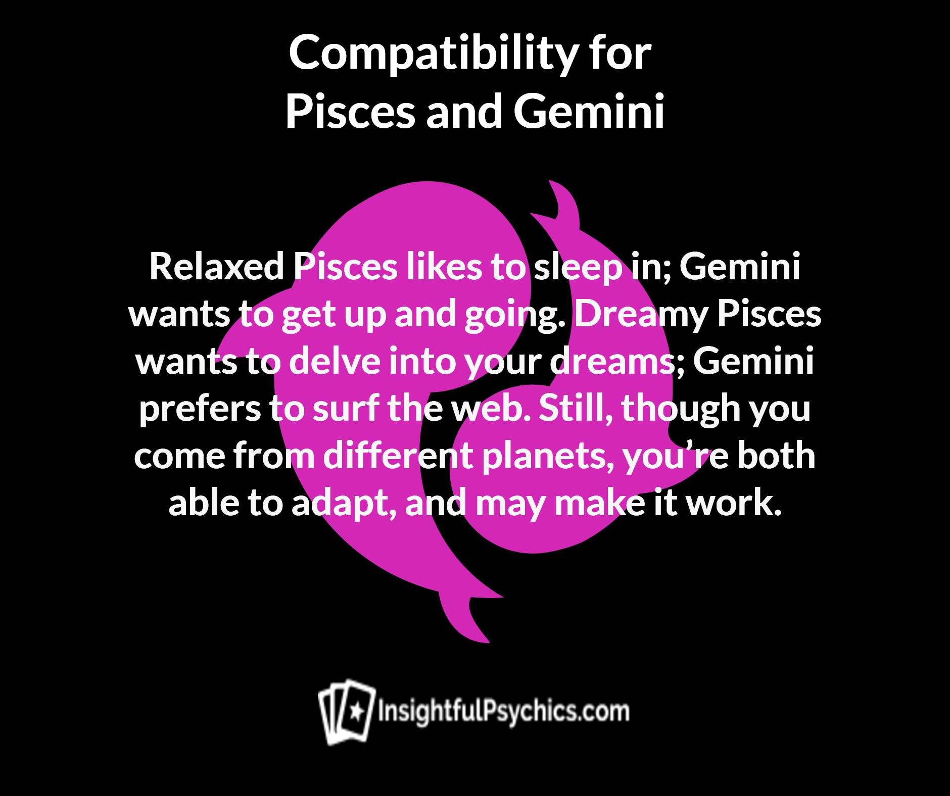 pisces and gemini dating compatibility