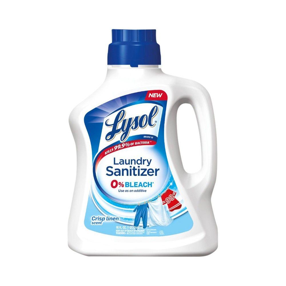 Lysol Laundry Sanitizer Lysol, Laundry detergent, Liquid