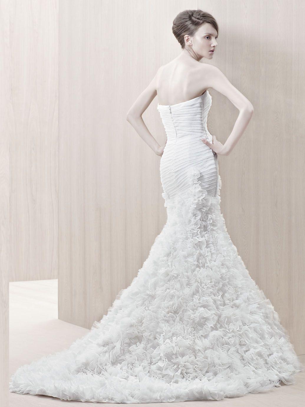 Enzoani gloria front view wedding dresses pinterest wedding