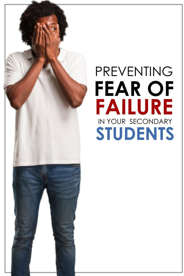 Preventing fear of failure formative assessment high