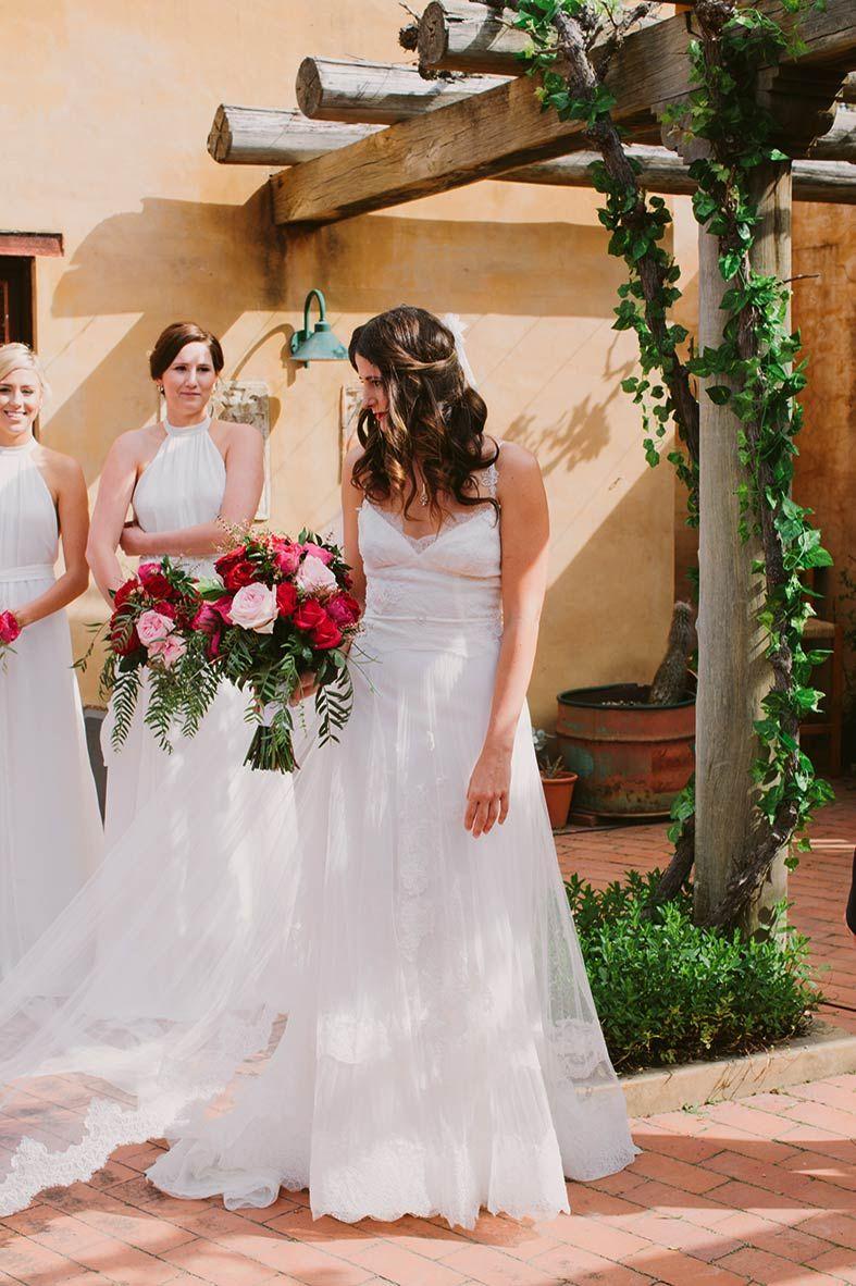 Yolan cris wedding dress with white neutral bridesmaid dresses yolan cris wedding dress with white neutral bridesmaid dresses from denver bridal shop emma ombrellifo Gallery