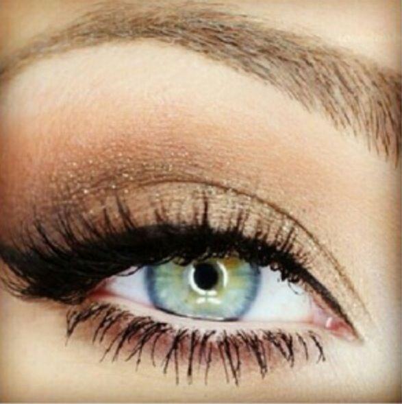 Smokey Eye For Bluegreen Eyes Make Up Pinterest Makeup Eye