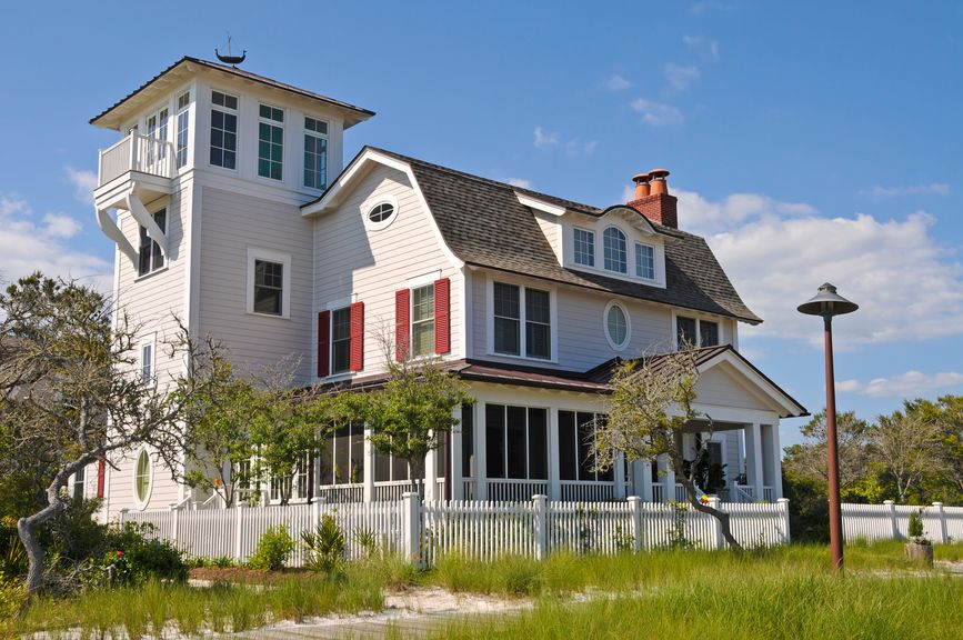 house - Beach House Plans With Tower