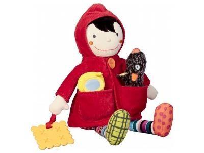 Ebulobo Zabawka Interaktywna Czerwony Kapturek Zabawki Czerwony Kapturek I Zabawki