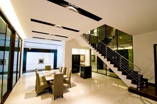 Interior design of lot 18 house modern house design in for Minimalist house design in malaysia