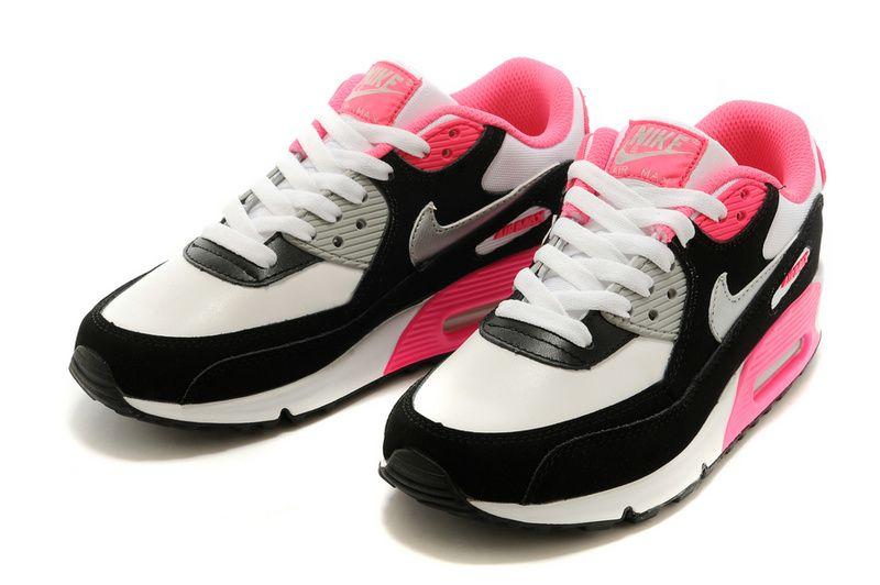 Womens Rose Nike Air Max Et Ongles En Acrylique Blanc
