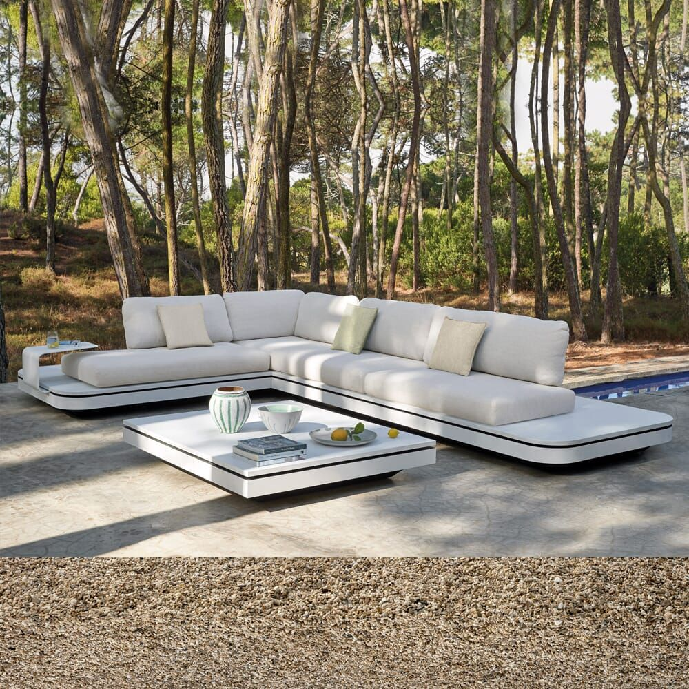 Large Luxury Contemporary Outdoor Modular Corner Sofa In 2020 Modular Corner Sofa Outdoor Corner Sofa