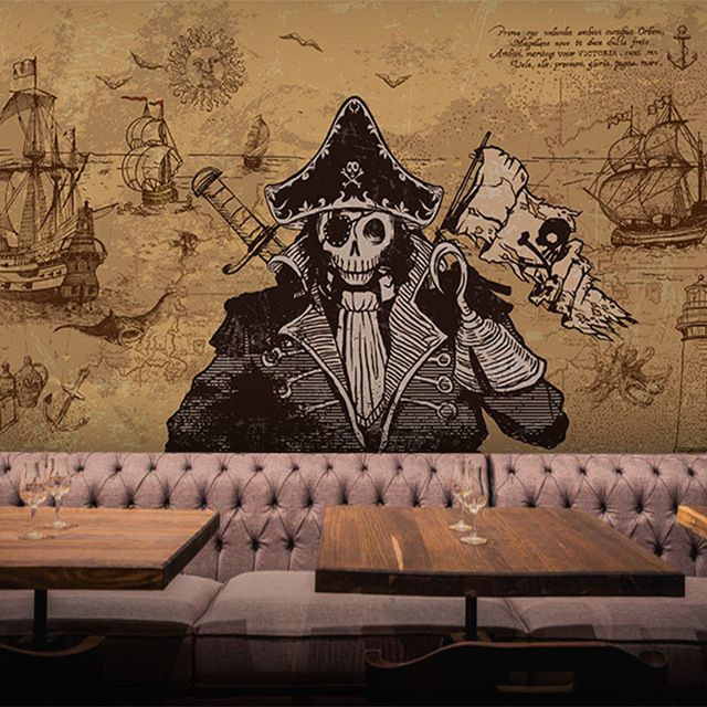 Papier Peint Theme Pirate