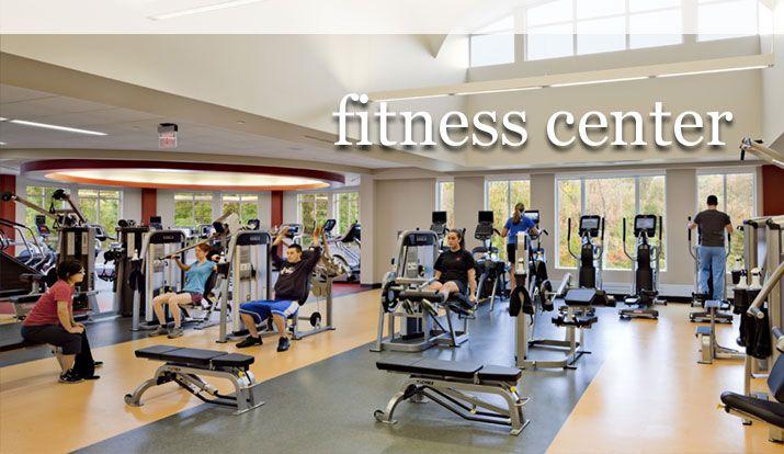 Curry College Fitness Center 2013 Career Internship Fair