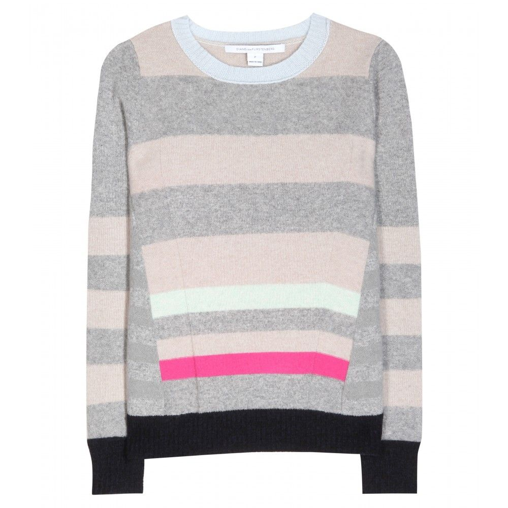 mytheresa.com - Beth striped cashmere sweater - Luxury Fashion for ...