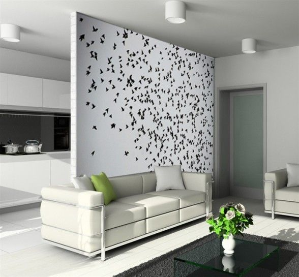 Delightful Wall Designs Beautiful Artistic Flying Birds Wall Decor   Customized Wall  Decals And Wall Designs For The Every Room Of Your House And The Creativity  It Has ...